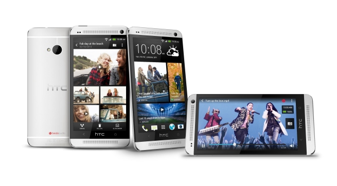 HTC One_Silver_Multiple