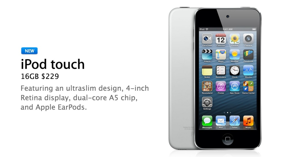 16gb ipod touch 2013