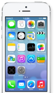 ios 7 homescreen