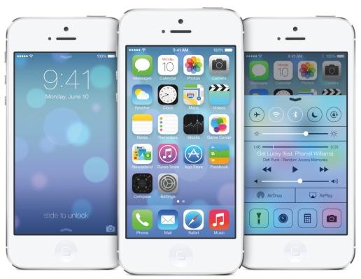 ios 7 iphone 5