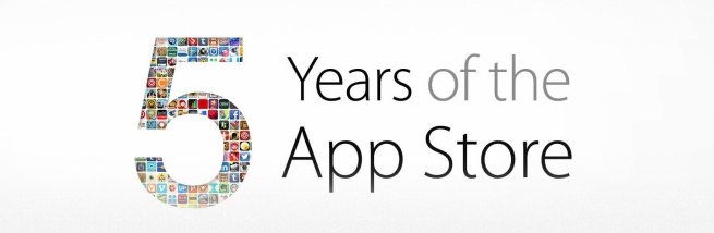 apple 5 years app store birthday