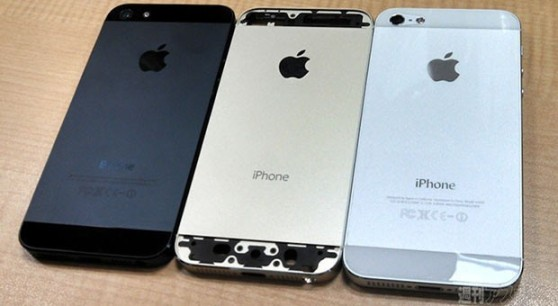 iphone 5s gold black white leak