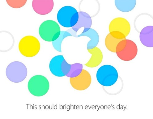 apple iphone 5s invite
