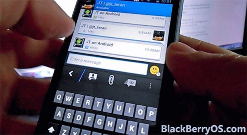 bbm for android video leak
