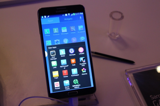 Galaxy Note 3 hands on 1