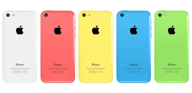 iphone 5c back colors