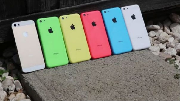 iphone 5c leak 2 colors