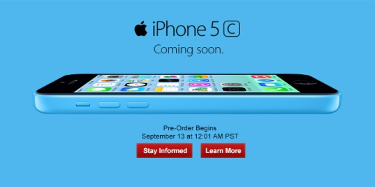 iphone 5c pre order verizon