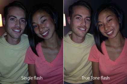 iphone 5s true tone flash compare