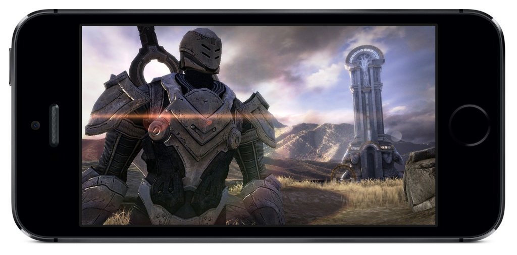 iphone 5S infinity blade 3