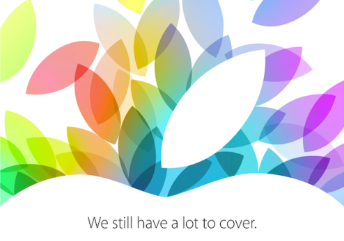 apple october 2013 event