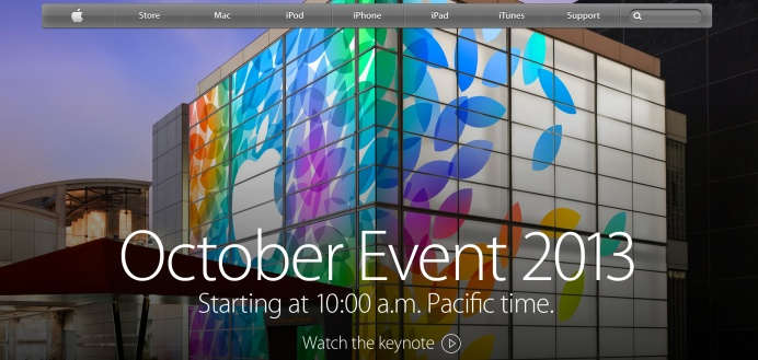 apple october keynote livestream