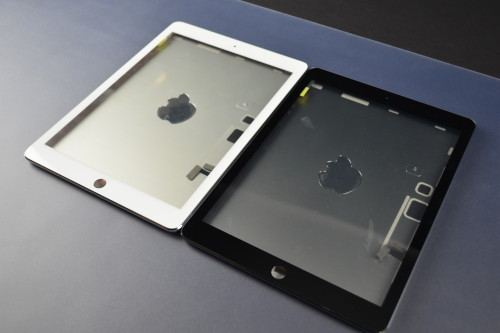 ipad 5 white black design leak